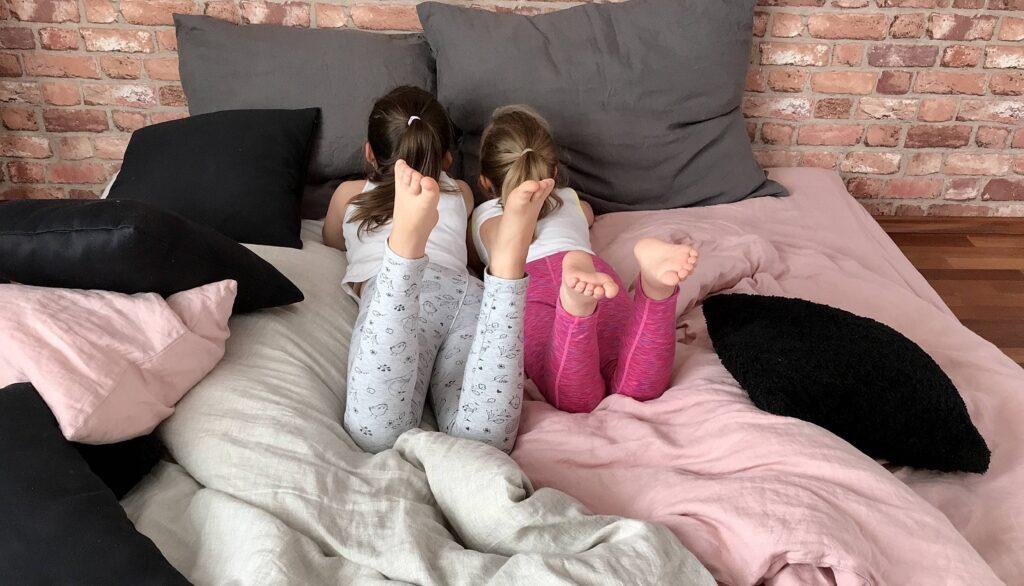 Nellen - miękkość lnianej pościeli kochają także dzieci
